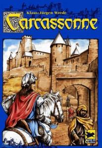 Portada del juego Carcassonne. Juego de Klaus-Jürgen Wrede
