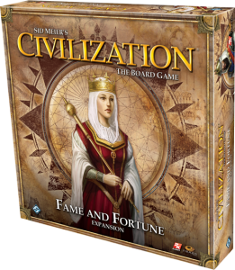 Civilization - Fama y Fortuna caja