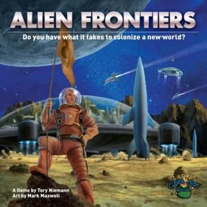 Alien Frontiers - Portada
