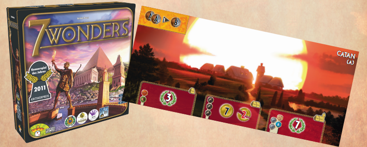 7 Wonders - Colonos de Catán