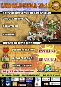 El cartel de las jornadas Ludolaguna 2k11