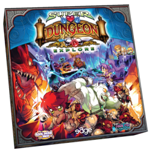 Super Dungeon Explore - Caja
