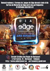 Cartel del I Día Edge AMB.