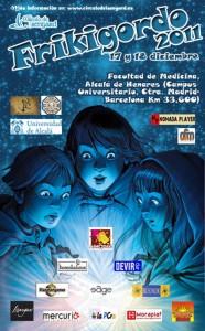 Cartel del evento Frikigordo 2011. Organizado por el Círculo de Isengard.