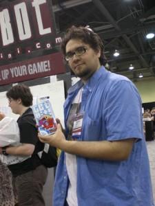 Dave Chalker. Diseñador del Get Bit!