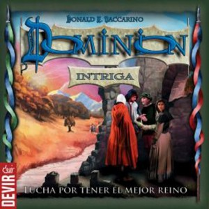 Portada de Dominion Intriga. Devir