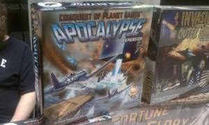 Catálogo de juegos de la familia Conquest Of Planet Earth