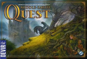 Portada del Middle Earth Quest