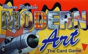 Modern Art. El juego de Cartas