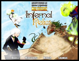 Sentinels of the Multiverse: Infernal Relics - Portada