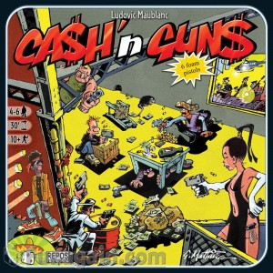 Cash & Guns. Portada