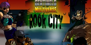 Sentinels of The Multiverse - Rook City - Portada