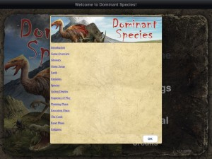 Dominant Species - iPad Reglas