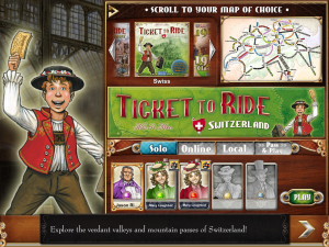 Ticket To Ride - iPad - Selección