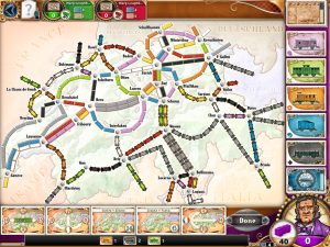 Ticket To Ride - iPad - Suiza