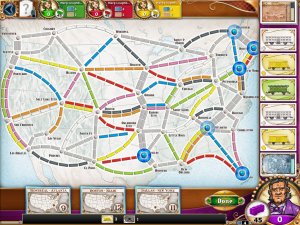 Ticket To Ride - iPad - USA 2