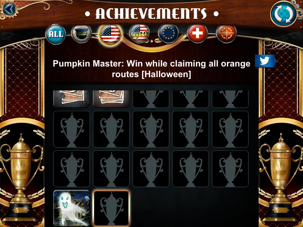 Aventureros al Tren - Logros Halloween 12