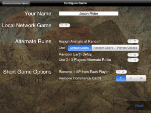Dominant Species - iPad 03