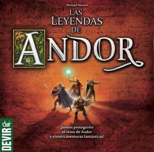 Las Leyendas de Andor - Portada