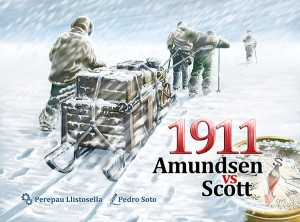 1911 Amudsen Vs. Scott . Portada