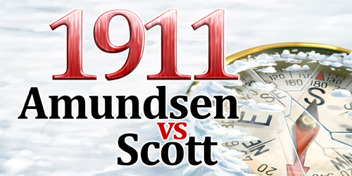 1911 Amudsen Vs Scott - Banner 500