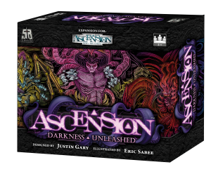 Ascension: Darkness Unleashed - Caja