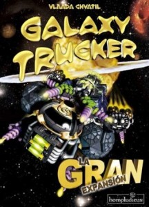 Galaxy Trucker, La Gran Expansión - Portada