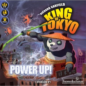 King Of Tokyo Power Up - Portada