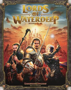 Lords of Waterdeep - Portada