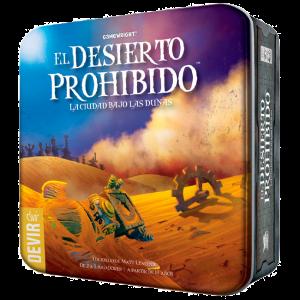 Desierto Prohibido - Caja
